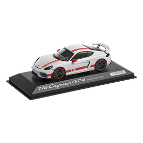 Porsche 718 Cayman GT4 Sports Cup Edition, Limited Edition, 1:43