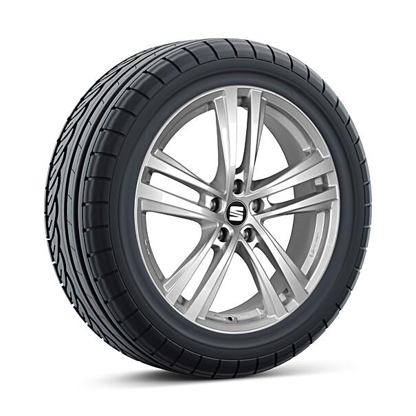 SEAT 16 inch lichtmetalen winterset Abrera, Continental