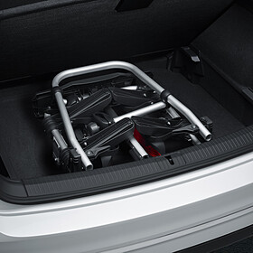 Volkswagen Fietsendrager Compact II (kantelbaar & inklapbaar) voor op trekhaak, 2 fietsen