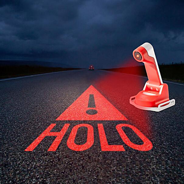 Volkswagen Bedrijfswagens Holografische gevarendriehoek